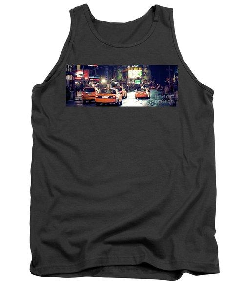 New York City Night Drive Tank Top