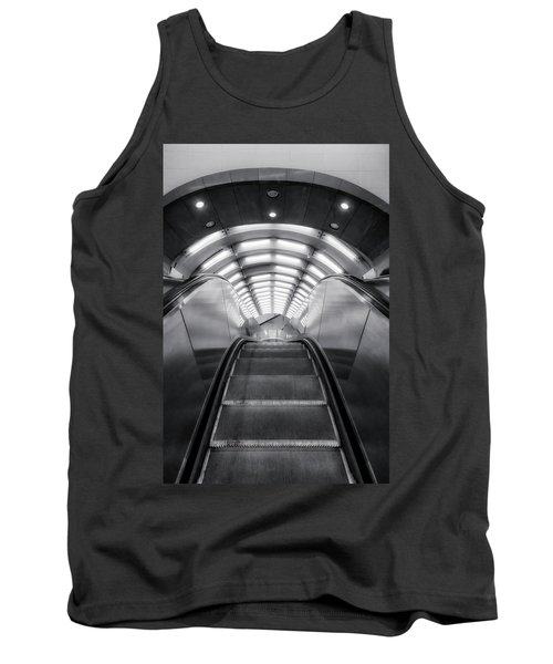 Tank Top featuring the photograph Nyc Subway Station by Susan Candelario