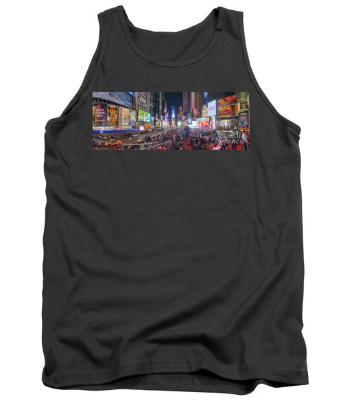 Nyc Times Square Panorama Tank Top