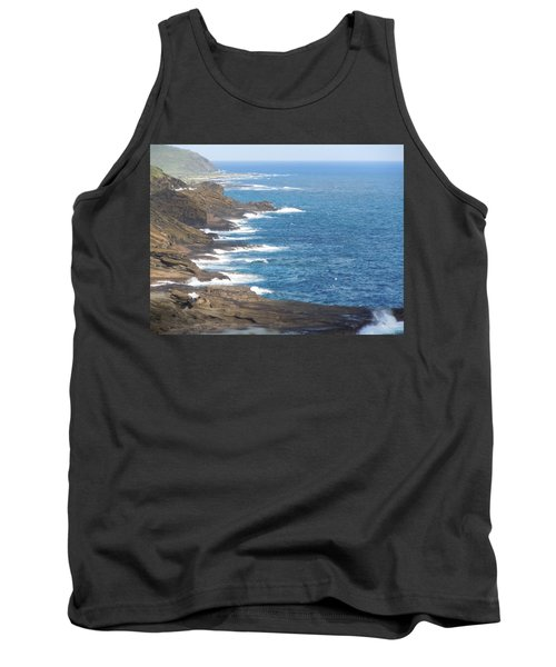 Oahu Coastline Tank Top