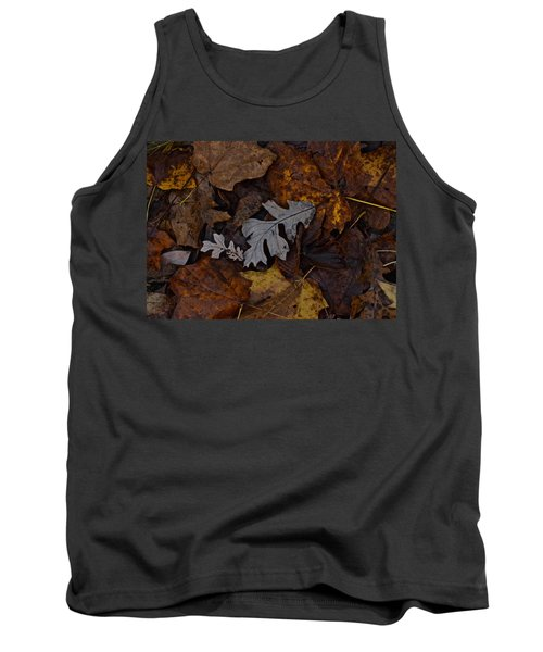 Oak And Maple Leaves Tank Top by Tim Good