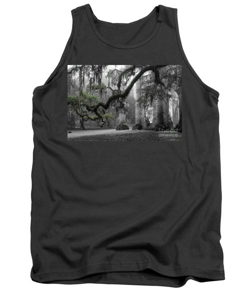 Oak Limb At Old Sheldon Church Tank Top