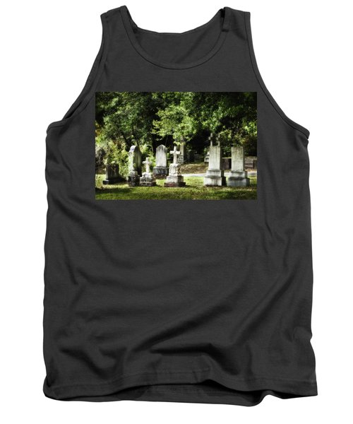 Oakdale Cemetery Tank Top by Denis Lemay