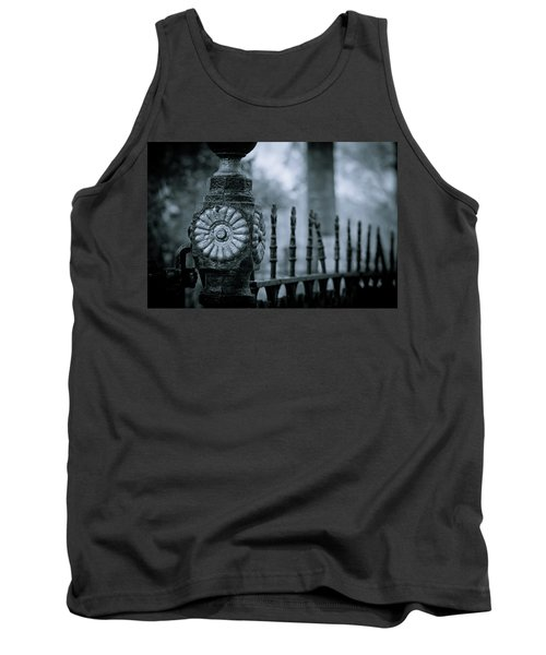 Tank Top featuring the photograph Oakwood Cemetery by Linda Unger