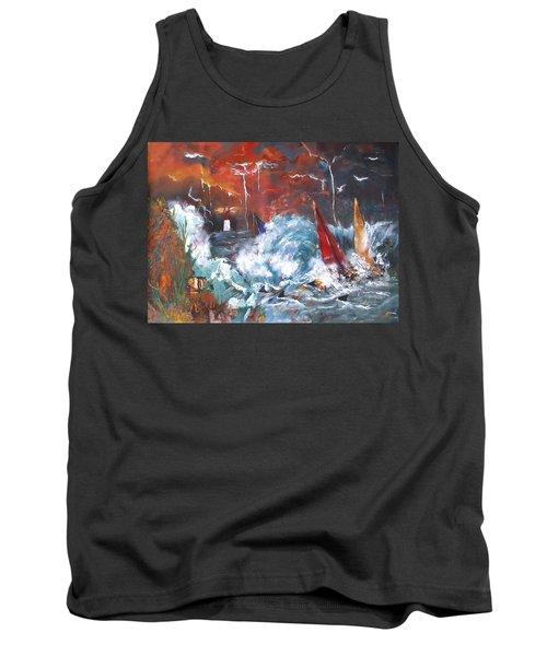 Ocean Fury Tank Top
