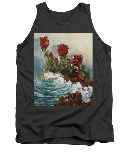 Ocean Rose Tank Top