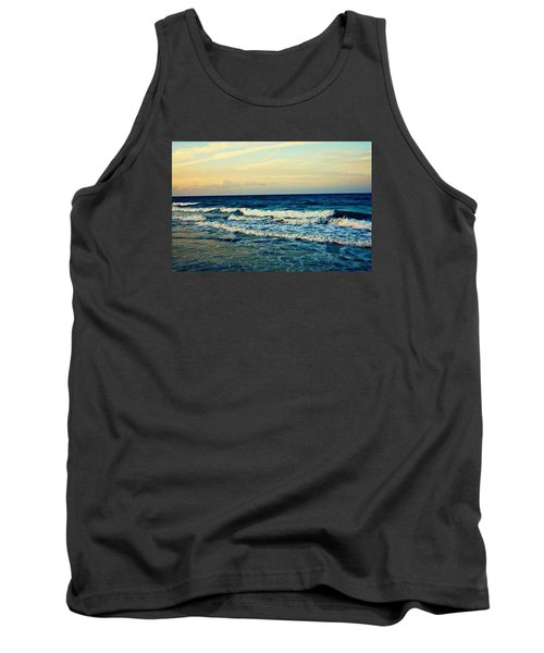 Tank Top featuring the photograph Ocean by Artists With Autism Inc