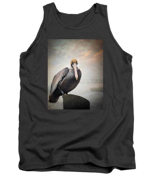 Ocean Springs Pelican Tank Top