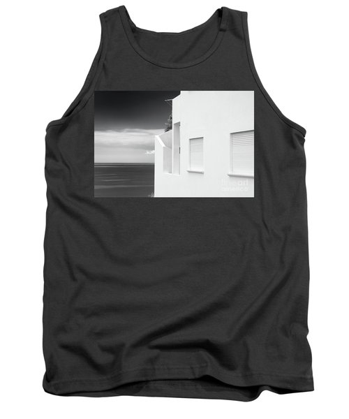 Ocean View White House Tank Top