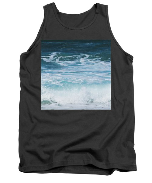 Ocean Waves From The Depths Of The Stars Tank Top by Sharon Mau