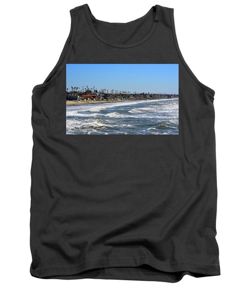 Tank Top featuring the photograph Oceanside by AJ Schibig