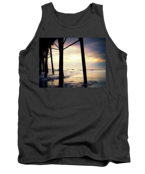 Tank Top featuring the photograph Oceanside - Late Afternoon by Glenn McCarthy