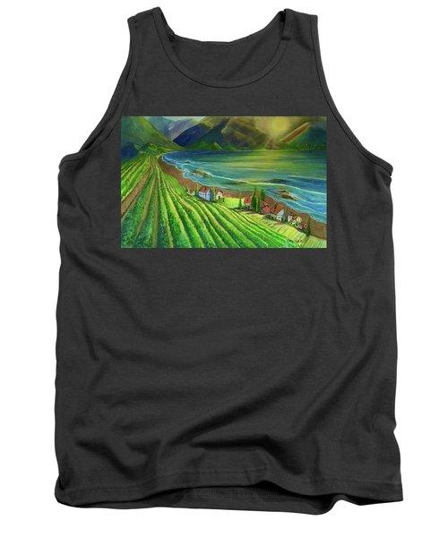 Sunset Vineyard  Tank Top