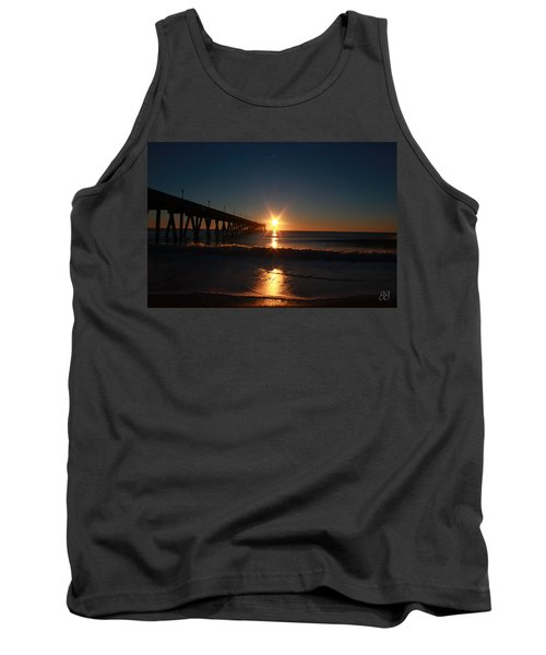 Oceanview Sunrise Tank Top by Geri Glavis