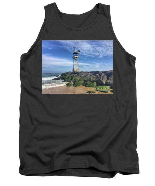Ocmd Inlet Jetty Beacon Tower Tank Top