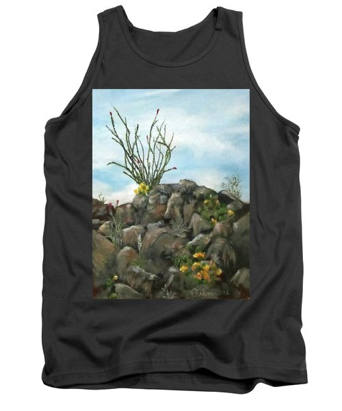 Ocotillo In Bloom Tank Top