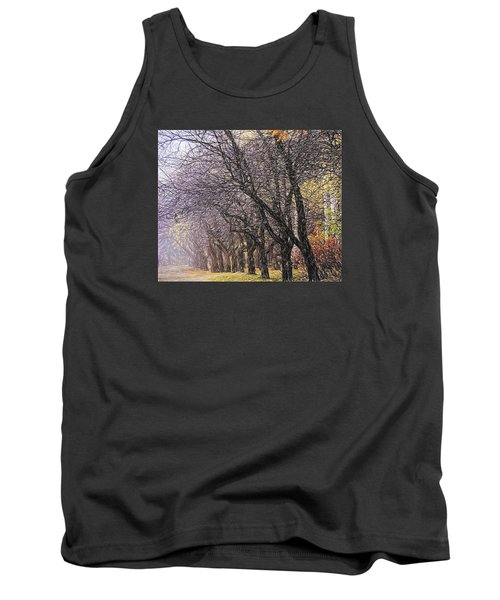 Tank Top featuring the photograph October 3 by Vladimir Kholostykh