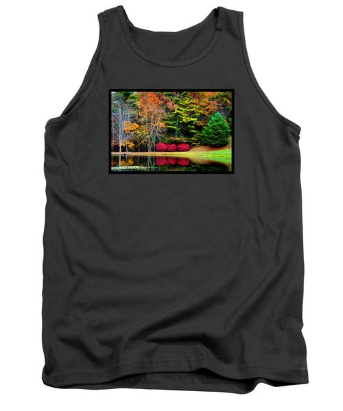 Tank Top featuring the photograph October Afternoon In The Blue Ridge Mountains by Susanne Still