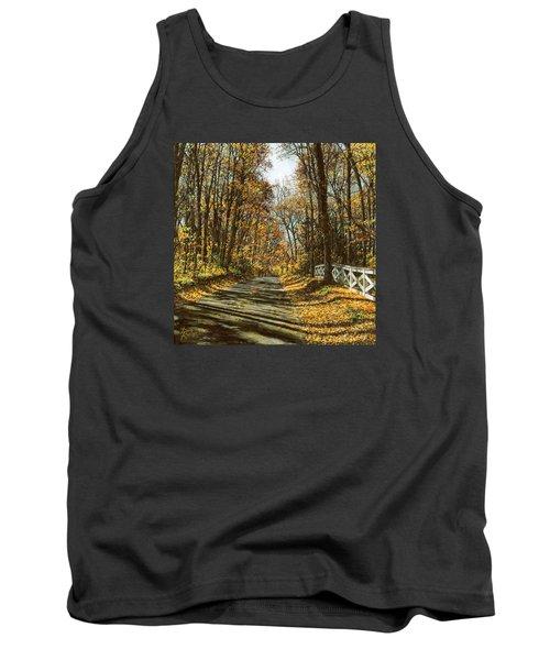 October Backroad Tank Top by Doug Kreuger