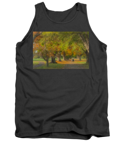 October Morning At Easton Country Club Tank Top