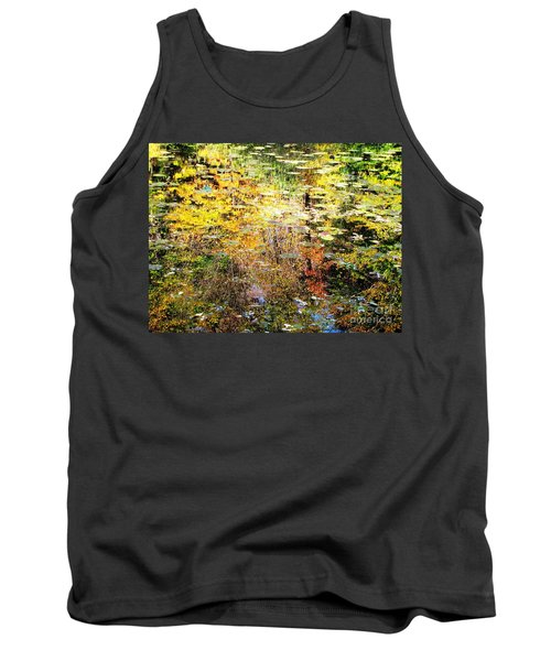 October Pond Tank Top by Melissa Stoudt