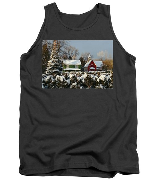 October Snow Tank Top