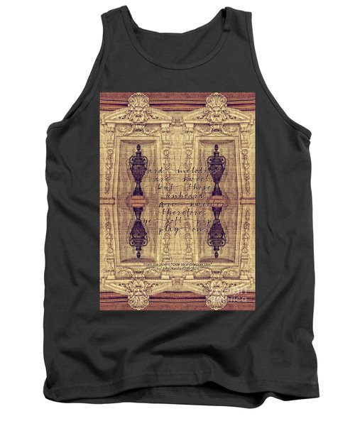 Ode To A Grecian Urn Palais Garnier Paris France Tank Top