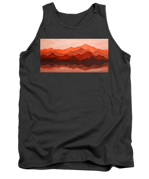 Ode To Silence Tank Top by Iryna Goodall