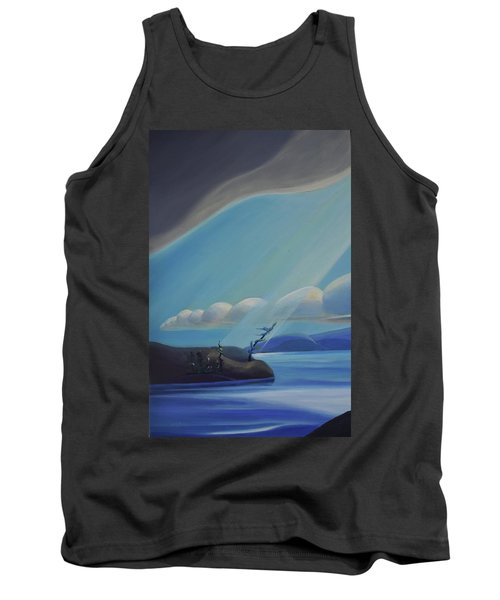 Ode To The North II - Left Panel Tank Top