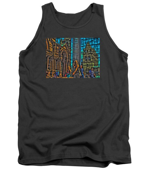 Of Light And Mirrors Tank Top