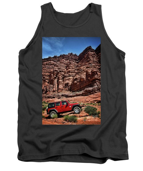 Off Road Adventure Tank Top