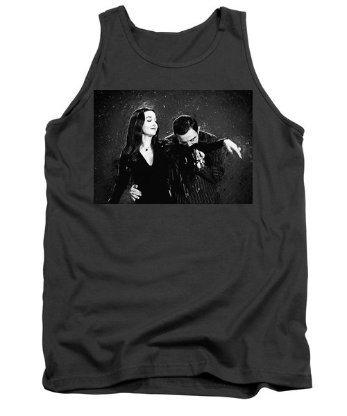 Oh Tish I Love It When You Speak French - The Addams Family  Tank Top