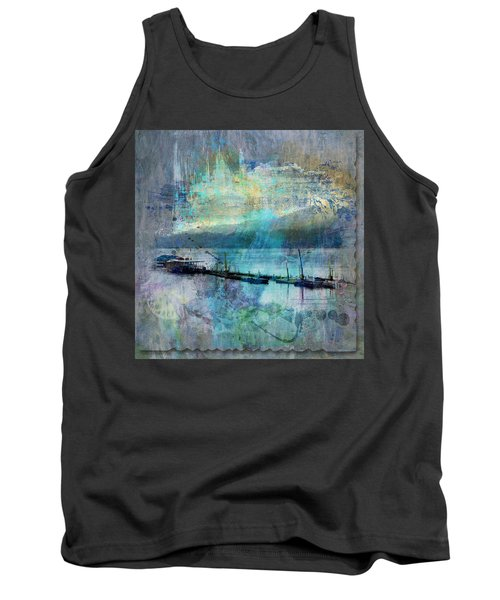 Ohio River Splatter Tank Top by Diana Boyd