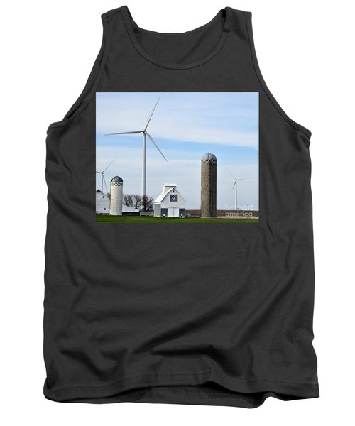 Old And New Farm Site Tank Top by Kathy M Krause
