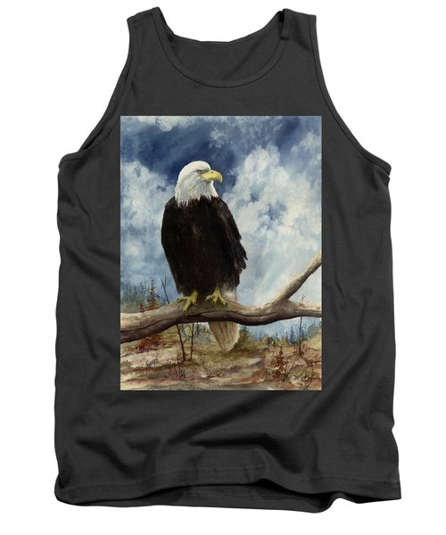 Old Baldy Tank Top by Sam Sidders