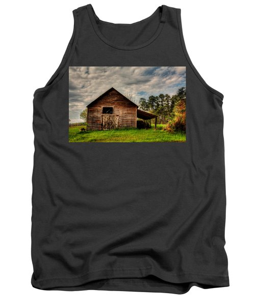 Old Barn Tank Top by Ester Rogers
