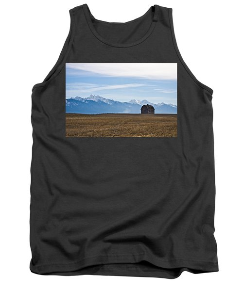 Old Barn, Mission Mountains Tank Top