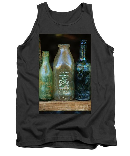 Tank Top featuring the photograph Old Bottles Hawaii by Craig Wood