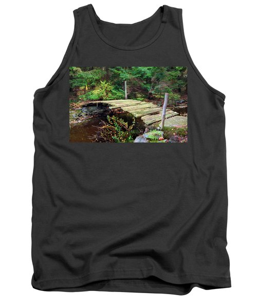 Tank Top featuring the photograph Old Bridge by Francesa Miller