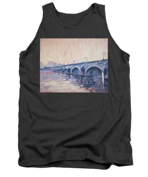 Old Bridge Of Maastricht In Warm Diffuse Autumn Light Tank Top by Nop Briex