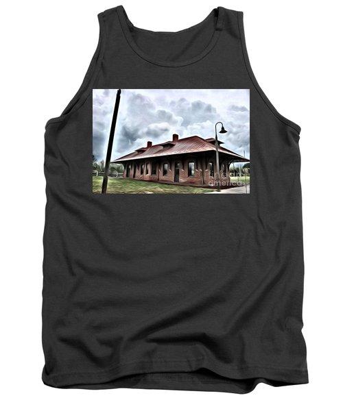 Old Burkeville Station Tank Top