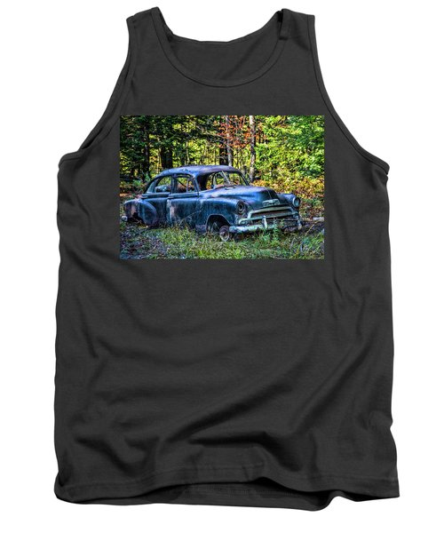 Old Car Tank Top by Alana Ranney