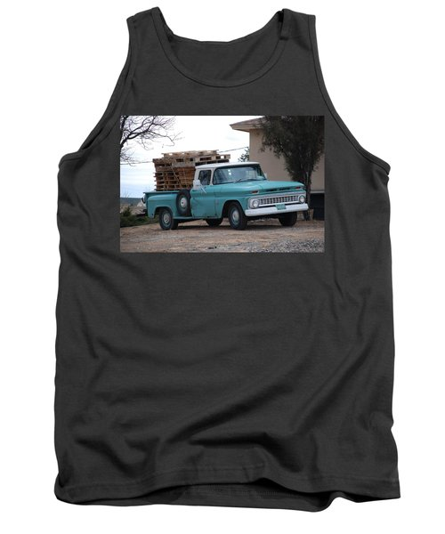 Tank Top featuring the photograph Old Chevy by Rob Hans
