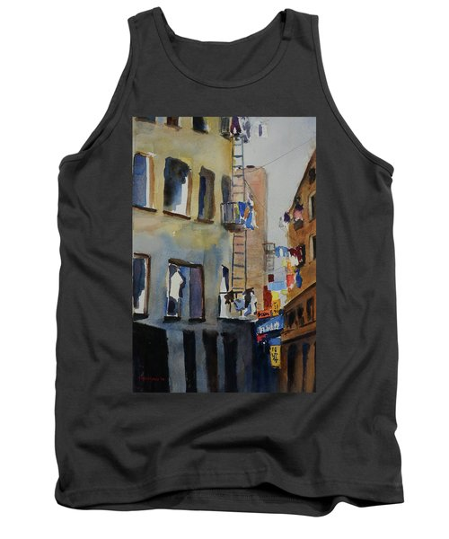 Old Chinatown Lane Tank Top by Tom Simmons