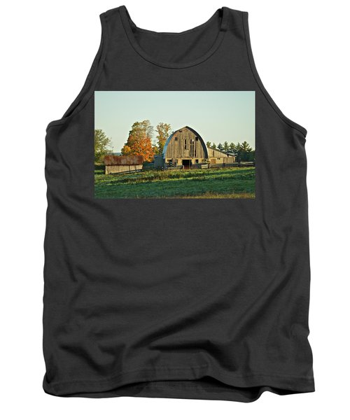 Old Country Barn_9302 Tank Top by Michael Peychich