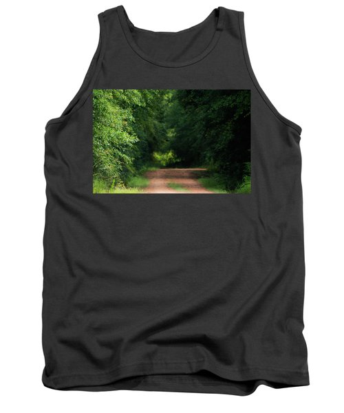 Tank Top featuring the photograph Old Dirt Road by Shelby Young