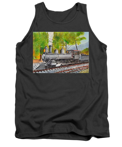 Old Engine 8 Tank Top