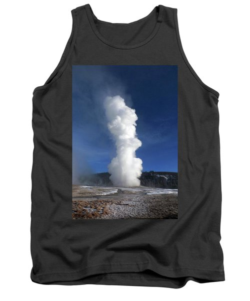 Old Faithful In Winter 2 Tank Top by C Sitton