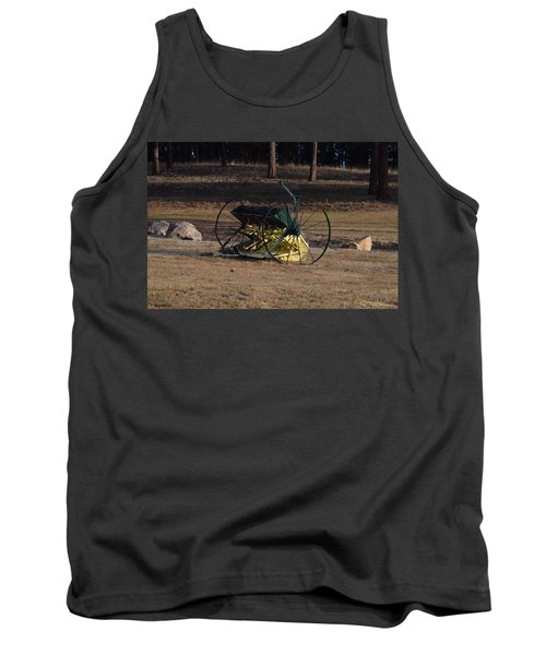 Old Farm Implement Lake George Co Tank Top