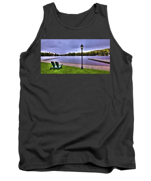 Old Forge Waterfront Tank Top by David Patterson